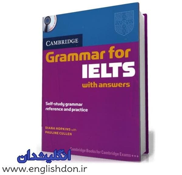 Cambridge Grammar for IELTS برای یادگیری گرامر آیلتس